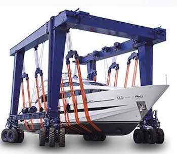tico boat lifting gantry crane