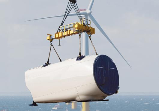 Wind Turbine Nacelles Lifting