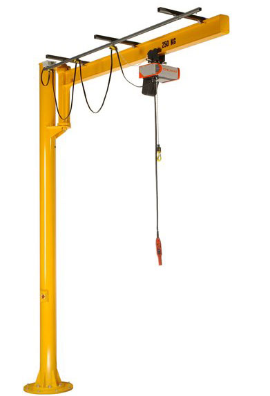 Swing Arm Hoist Mount : Jib crane with wonderful design and