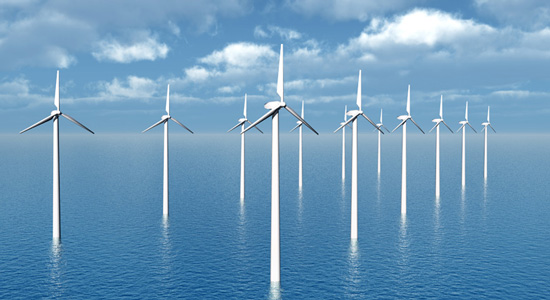offshore wind power plant